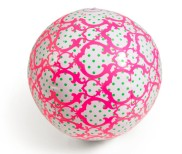 Signature Dots Beach Ball, $10