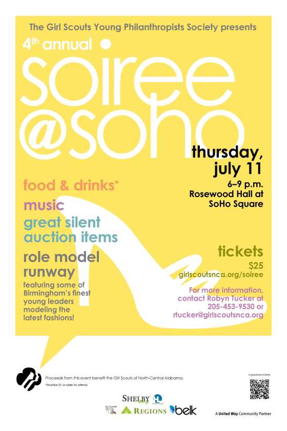 Soiree Poster 2013