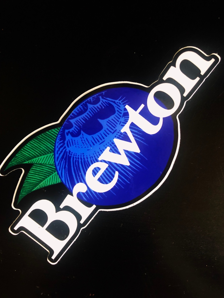 Brewton Blueberry sticker